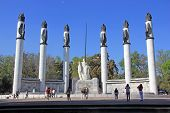 Monument To The Heroic Cadets In Chapultepec Park, Mexico City..