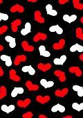 Love Heart Repeat Pattern.