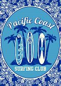 Pacific Coast surfing club.