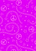 Teen Girls Pink Pattern.