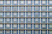 symmetrical facade