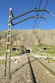 Oberleitung und Eisenbahn