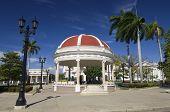 bandstand in the Plaza Jose Marti, Cienfuegos, Cuba