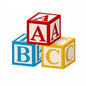 Alphabet Block ABC