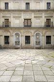 Courtyard of the fountainheads; Royal Monastery of El Escorial; San Lorenzo de El Escorial; Madrid;