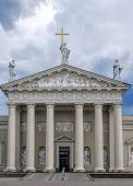 Cathedral Church In Vilnius