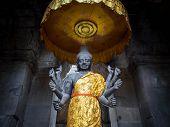 Vishnu Statue at Angkor Wat, Cambodia