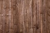 grunge brown wooden background.