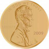 Penny vector 2009