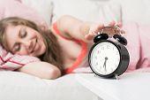 alarm clock, Wekdienst concept