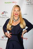 LOS ANGELES - 9 de JAN: Brenda Dickson na festa