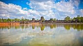 image of raider  - Famous Angkor Wat temple complex - JPG