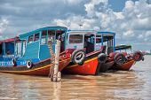 Mekong riverboats