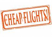 Cheap Flights Stamp