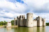 Bodiam Castle, East Sussex, England