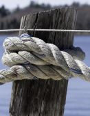Knotted line