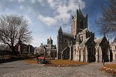 Christ Church Cathedral (holy Trinity) In Dublin, Ireland