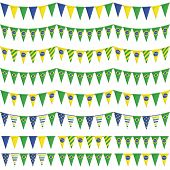 Brazil Party Bunting