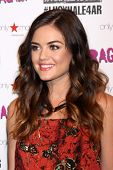 LOS ANGELES - JUN 14:  Lucy Hale at the in store appearance and performance for American Rag at Macy