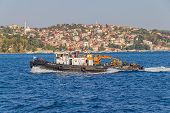 Tugboat in Istanbul