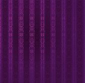 Purple Stripe Ornate Seamless Wallpaper. Vector Illustration.