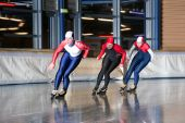 Three Speed Skaters