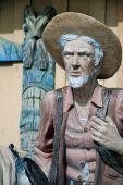 Viejo Prospector estatua