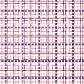 Seamless Mesh Pattern In Blue And Red