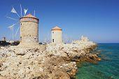 Windmills, Rhodes