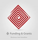 Funding And Grants Agency Business Icon