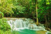 Waterfall Huay Mae Kamin