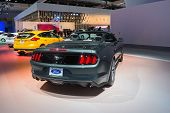 Ford Mustang Gt Convertible On Display