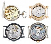 Set Of Watches With Mechanical And Quartz Movement