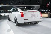 Cadillac Ats Coupe Car On Display