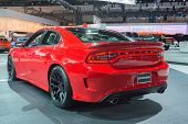 Dodge Charger Srt Hellcat On Display