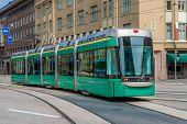 Green tram