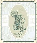 vintage mulled wine