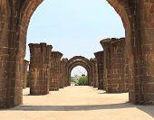 Aincent Arches And Ruins Bijapur Karnataka India