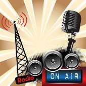 Radio on air