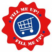 Fill Me Up!-label