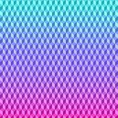 Abstract vector  bright colored 3D cubes geometric background