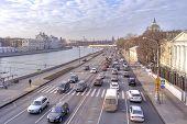 Moscow. Moskvoretskaya Embankment