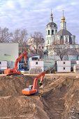 Building Foundation Pit