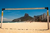 Football Gate in Ipanema Beach
