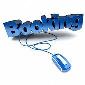 Online Booking Blue