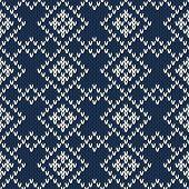 Argyle Sweater Design. Seamless Pattern