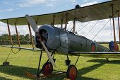 Vintage British Training Aircraft Avro 504K. 1918