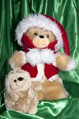 Doll With Hat Of Santa Claus And Gifts