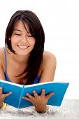 Female Student Reading