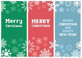 Multicolored Christmas Card